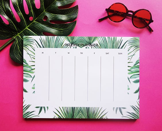 The To Do List | Best Notepads to Stay Organized | Weekly Planner | CJ Designs Paper | Jessica Brigham Blog