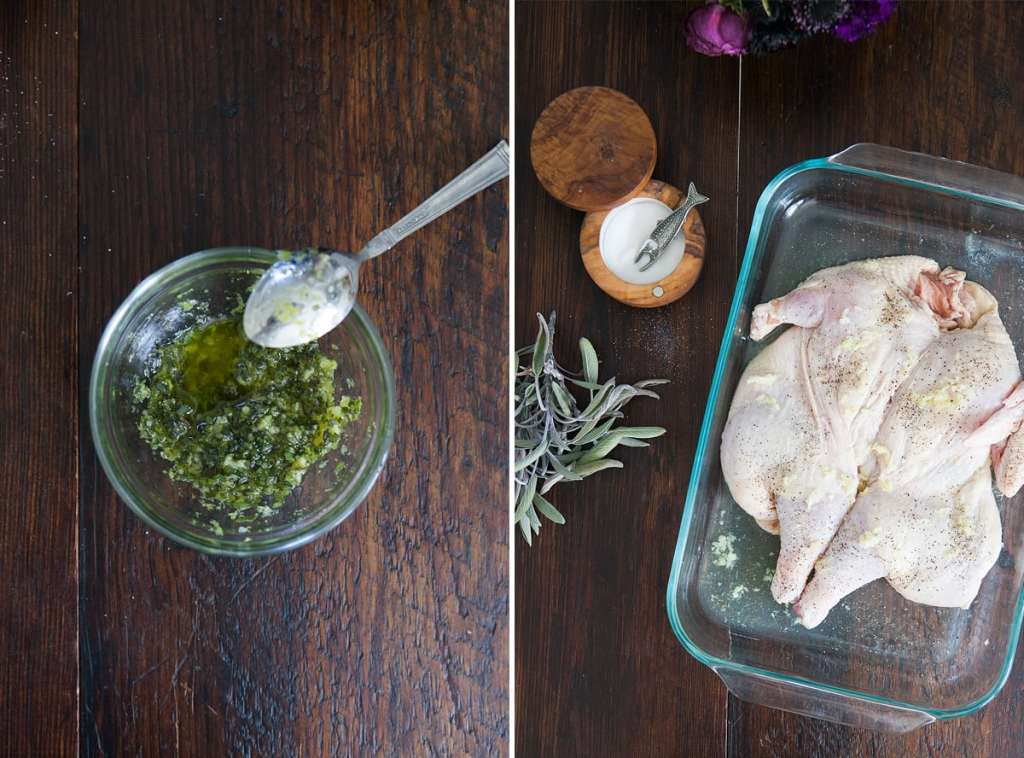 Free Range Cornish Hen | Celeriac Carrot Fries | Sage Gremolata | Jessica Brigham Blog | Magazine Ready for Life For Less