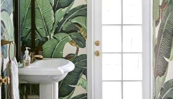 One Room Challenge Modern Boho Bathroom Week Five