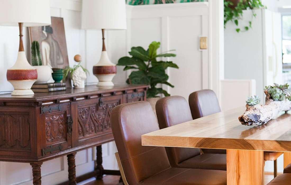 Before & After: Modern Vintage Dining Room Reveal
