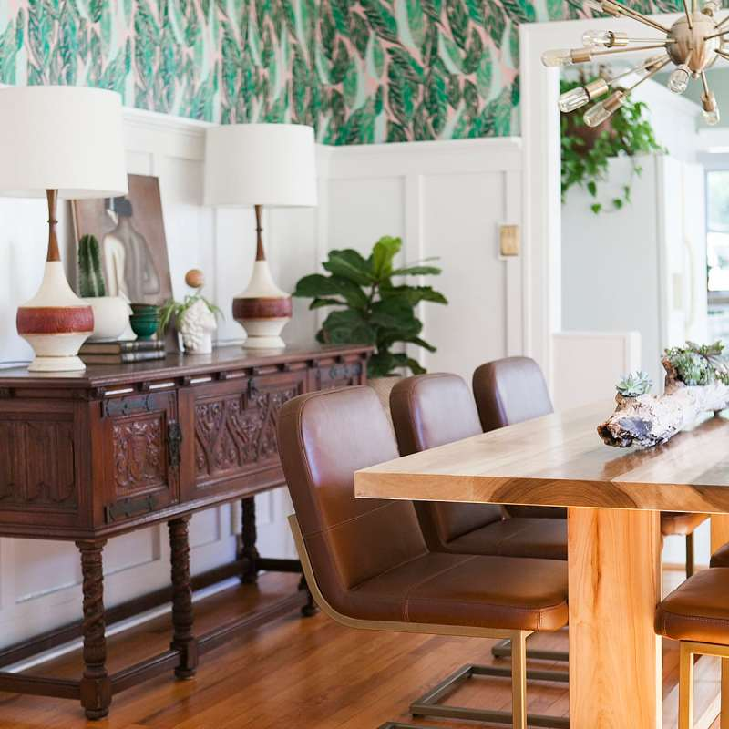 25 Contemporary Dining Rooms Desings: Before & After: Hunter Green Home Office » Jessica Brigham
