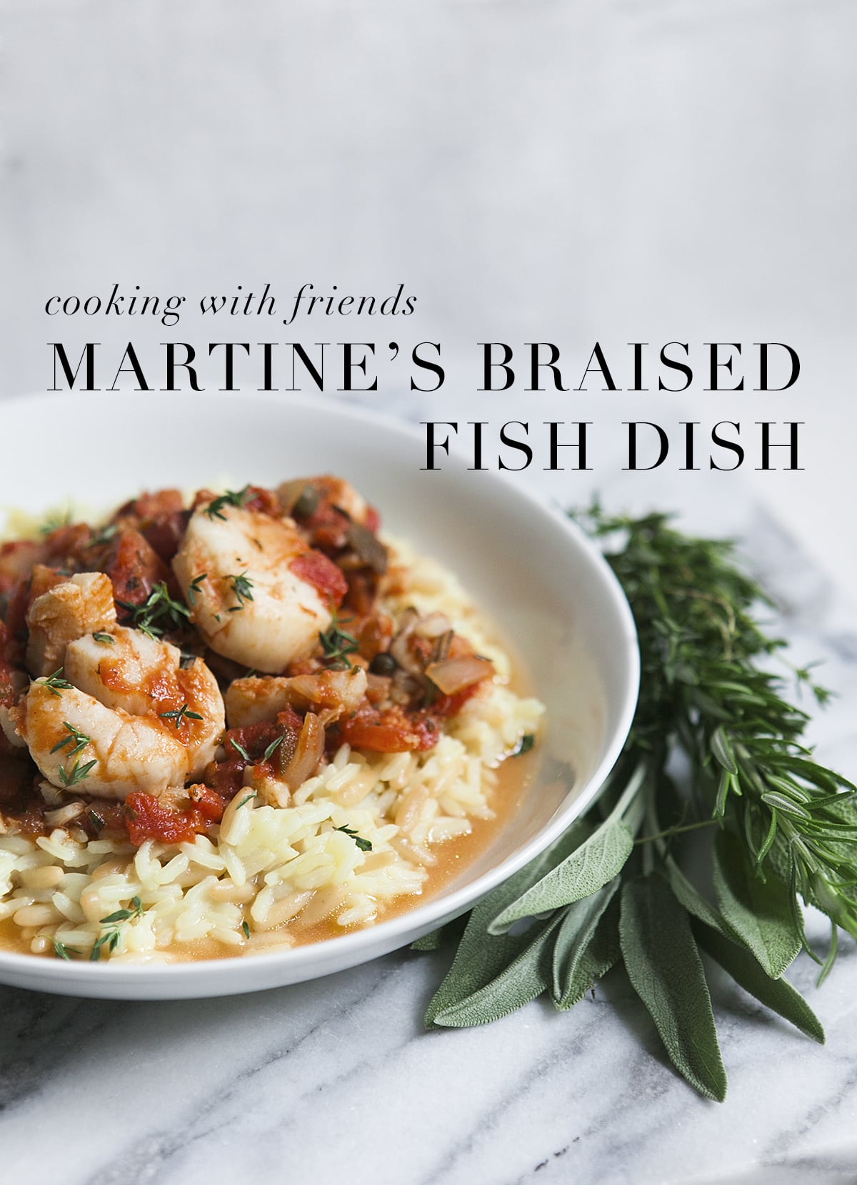 Martines Braised Fish with Rice Pilaf | Seasonal Cooking | Cod Recipes | Jessica Brigham Blog | Magazine Ready for Life for Less