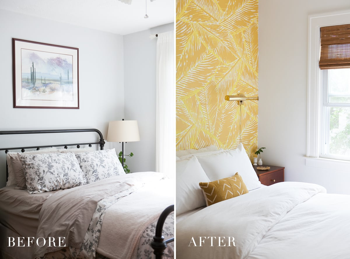 Before After Boho Glam Master Bedroom Reveal Jessica Brigham