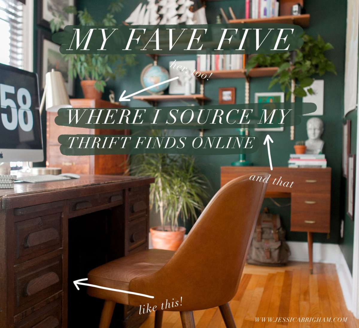 Where I Source My Thrift Finds Online | Jessica Brigham Blog | Thrift Shopping Tips | Where to Thrift | Online Thrift Store | Second Hand Stores