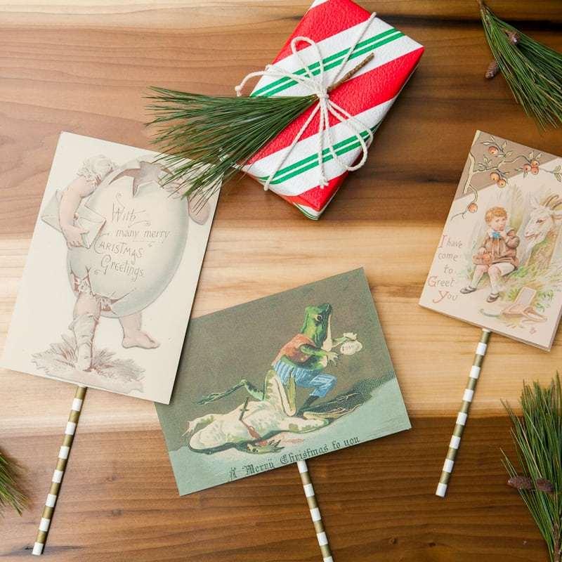 Handmade Christmas Cards DIY   Jessica Brigham Blog   Magazine Ready for Life