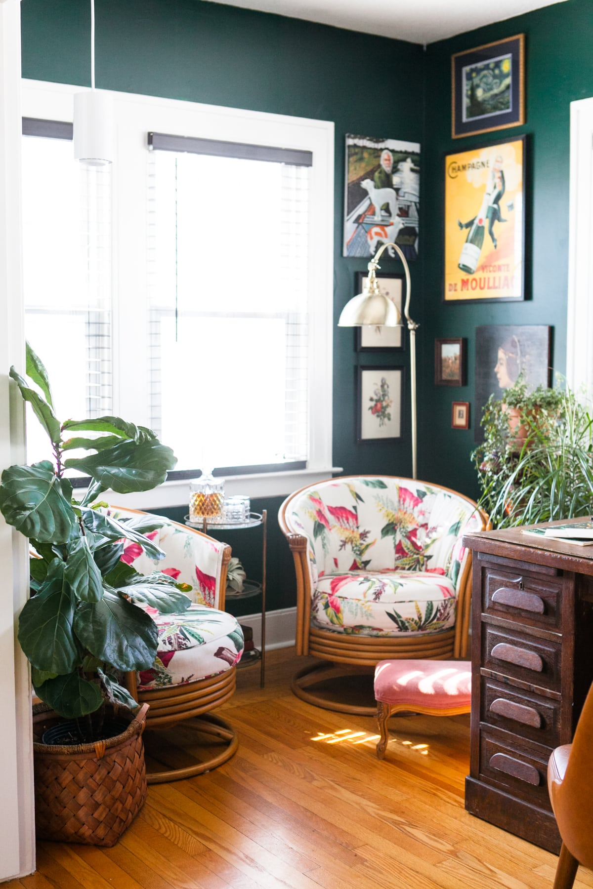 Modern Eclectic Glam Spring Home Tour 2018   Jessica Brigham   Magazine Ready for Life