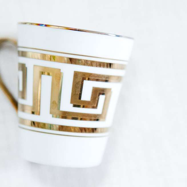 Art Deco Coffee Mugs | Jessica Brigham