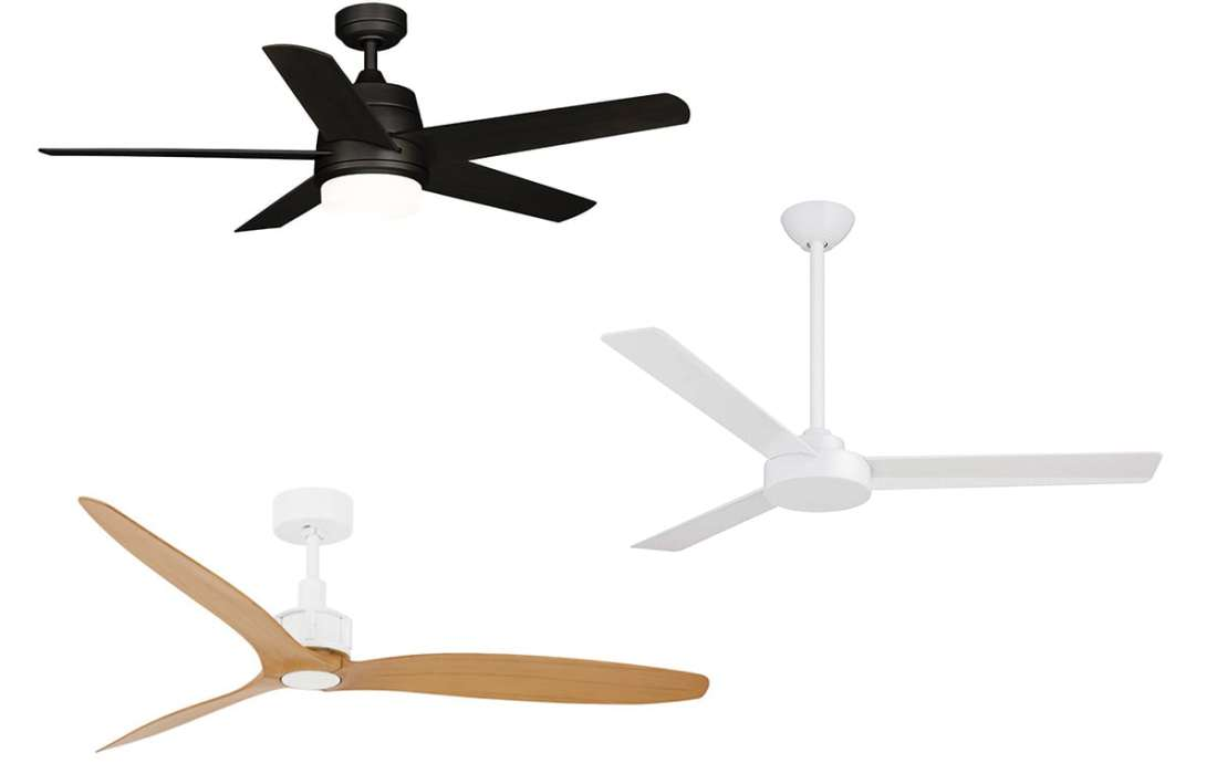 My Fave Five: Attractive and Modern Ceiling Fans Under $225