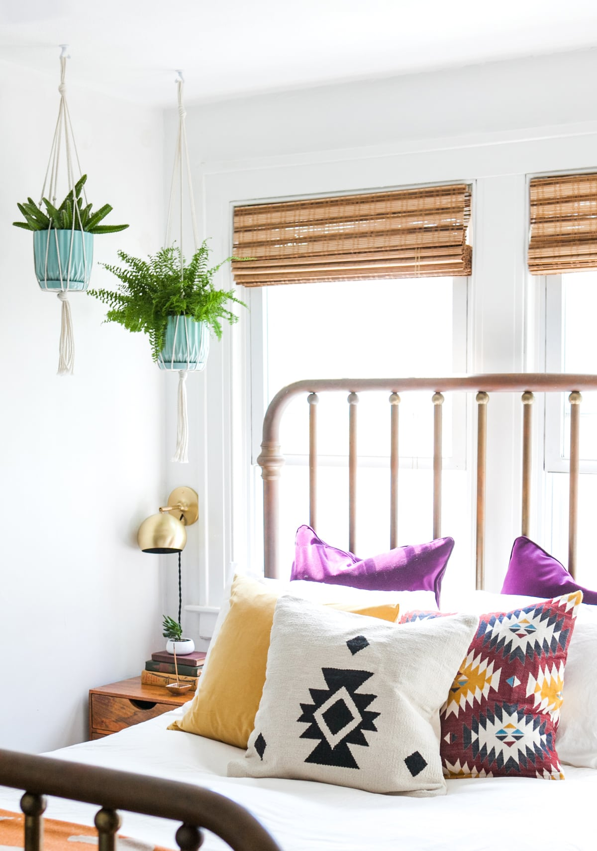 DIY Macrame Plant Hanger | How To | Hanging Plants | Jessica Brigham | Magazine Ready for Life