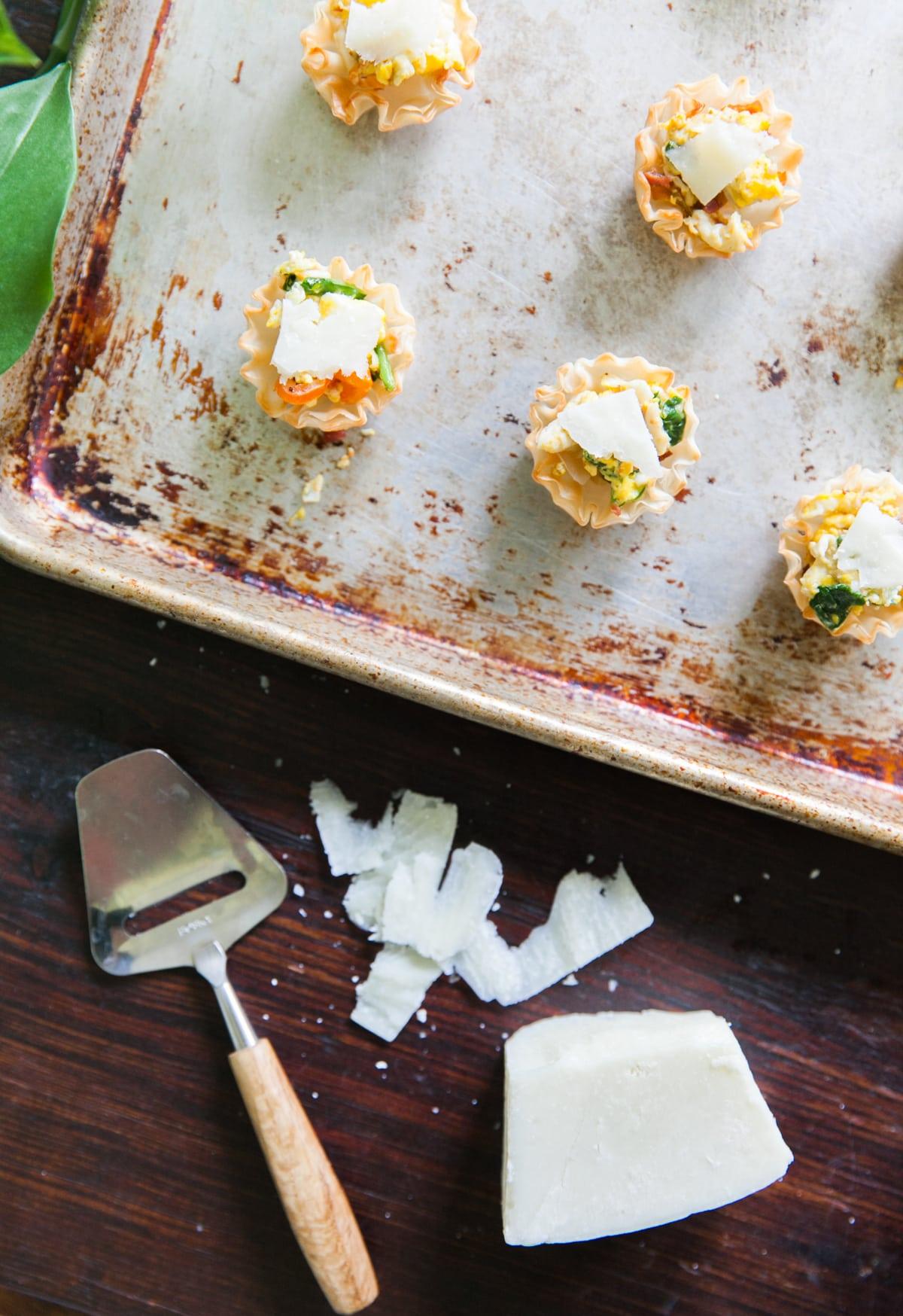 Brunch Time | Mini Frittatas with Tomato + Crispy Pancetta | Quick Brunch Recipes | Amuse Bouche Breakfast Foods | Jessica Brigham Magazine for Life