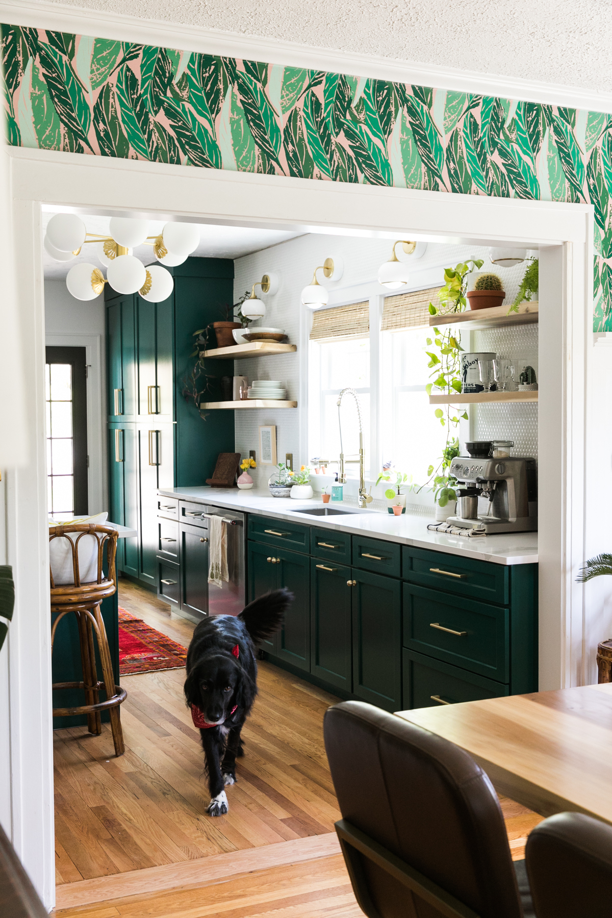 One Room Challenge | Dark Green Kitchen Glamazon | Kitchen Mood Board | Open Kitchen Design | Kitchen Renovation | Jessica Brigham | Magazine Ready for Life | www.jessicabrigham.com