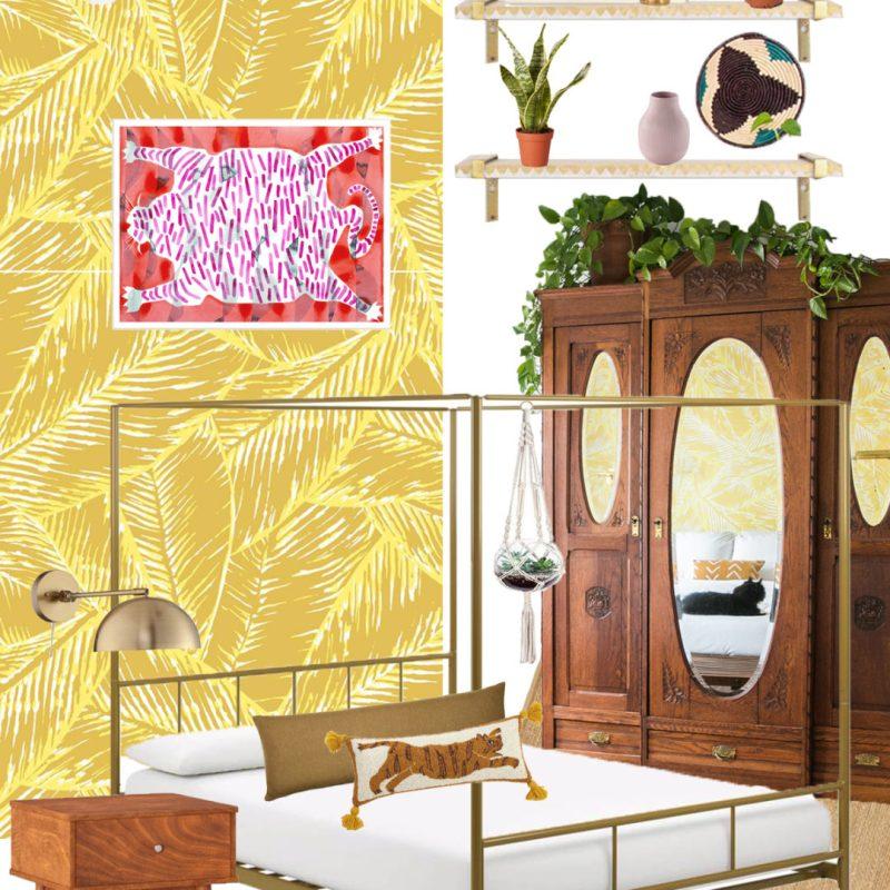 Boho Glam Master Bedroom Refresh | Master Bedroom Ideas | Feng Shui Bedroom | Jessica Brigham | Magazine Ready for Life | www.jessicabrigham.com