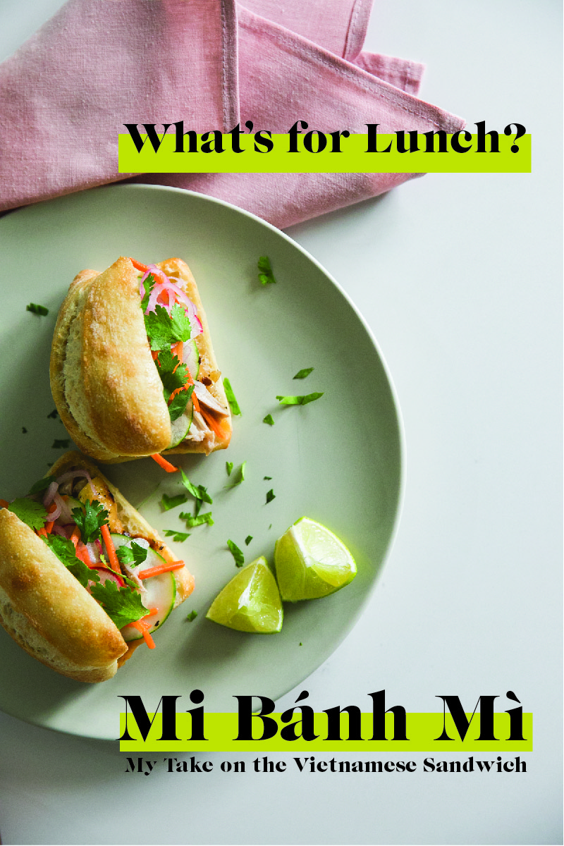 Mi Bánh Mì Recipe | Vietnamese Sandwich | Bulk Cooking | Jessica Brigham | Magazine Ready for Life