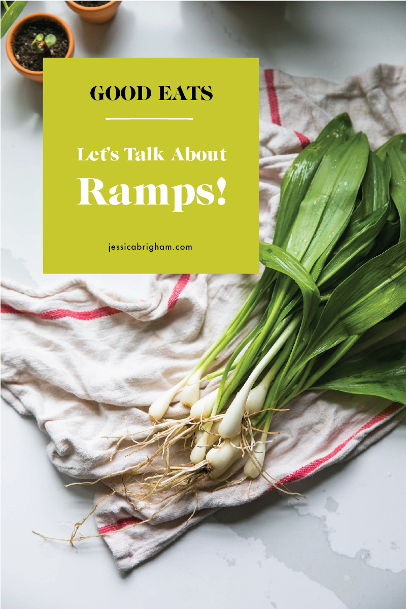 Lets Talk About Ramps | Ramp Recipes | Ramp Foraging | JessicaBrigham.com