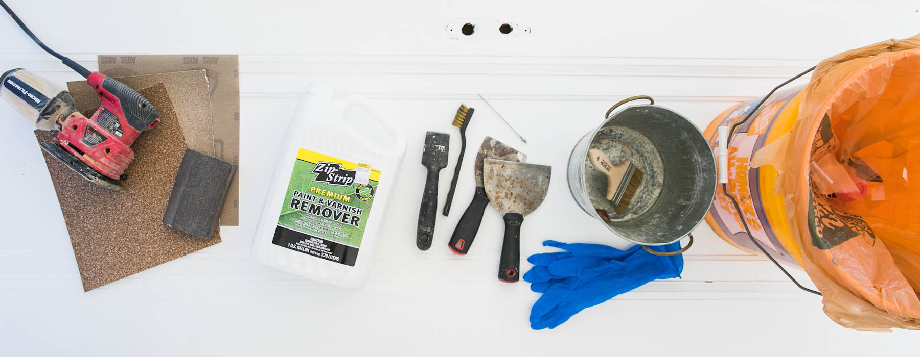 Yes You Can! How To Strip Paint From a Wood Door   Paint Stripping   Remove Paint   DIY   Jessica Brigham   Magazine Ready for Life