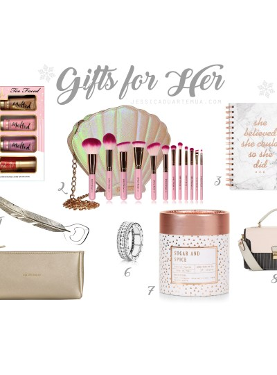 Gift ideas for Her – Blogmas with Jess