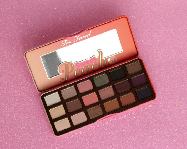 Sweet Peach Palette Review