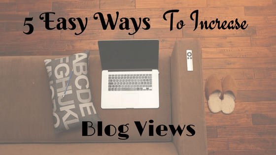 increase blog views