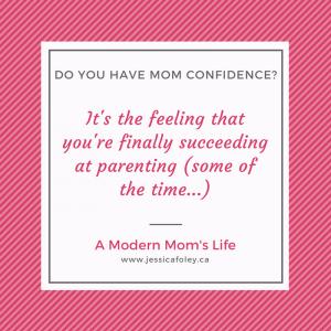 mom confidence