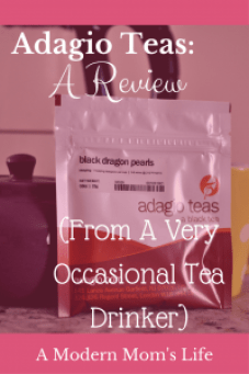 Adagio Teas: A Review (From a very occasional tea drinker)