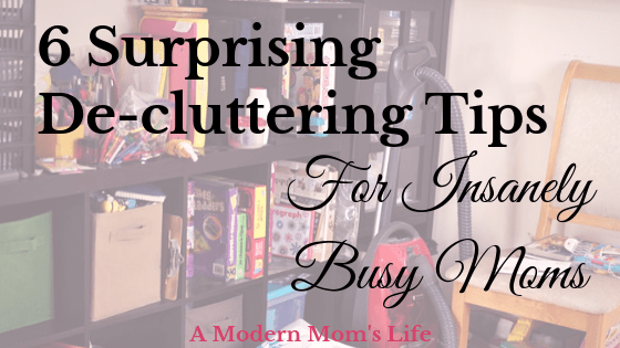 Surprising De-cluttering Tips