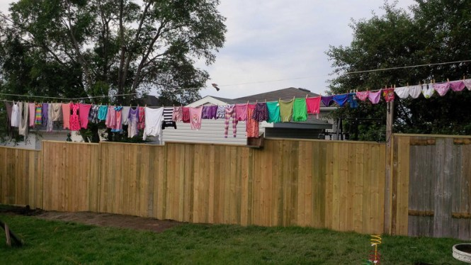 clothesline frugal tips from a working mom