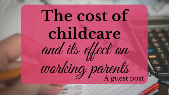 cost of childcare working parents