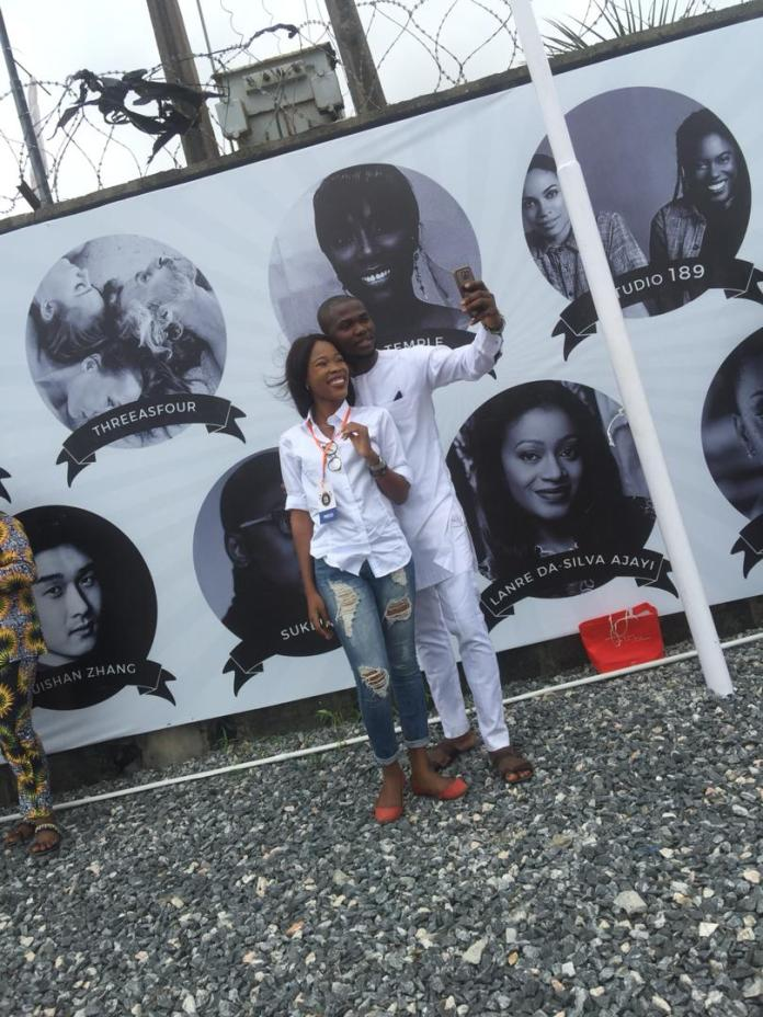 Street style in Lagos