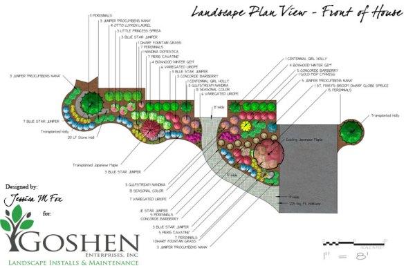 jessica . fox landscape design