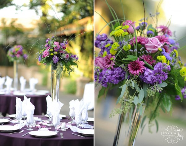 Blue Purple White Wedding Ideas - Vtwctr