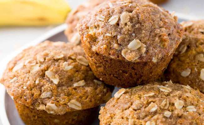 Healthy Banana Muffins With Old Fashioned Oats Jessica Gavin