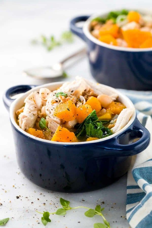 Butternut Squash Soup with Chicken - Jessica Gavin