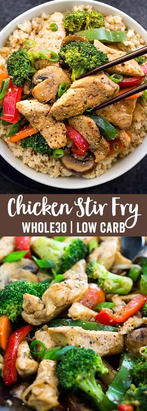 Chinese Chicken Stir-Fry with Whole30 Ingredients ...