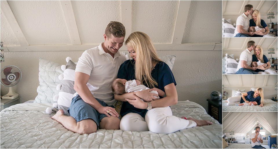 Dallas TX Lifestyle Newborn Photography