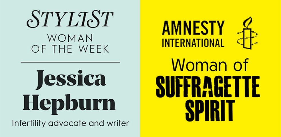 Jessica Hepburn Stylist Woman of the Week and Amnesty International Woman of Suffragette Spirit