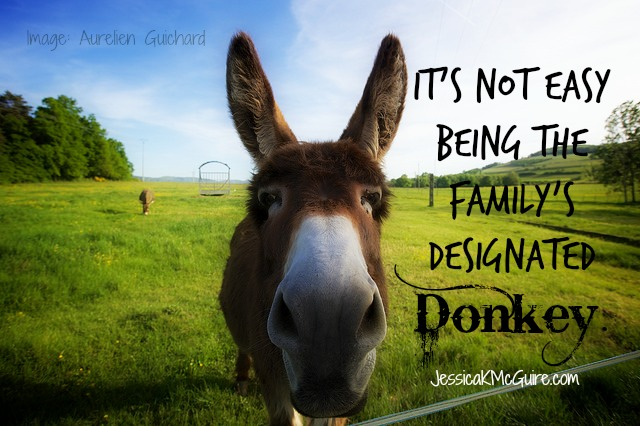Does Your Family Have a Designated Donkey?