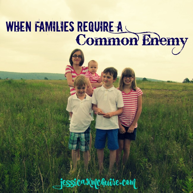 when families require a common enemy