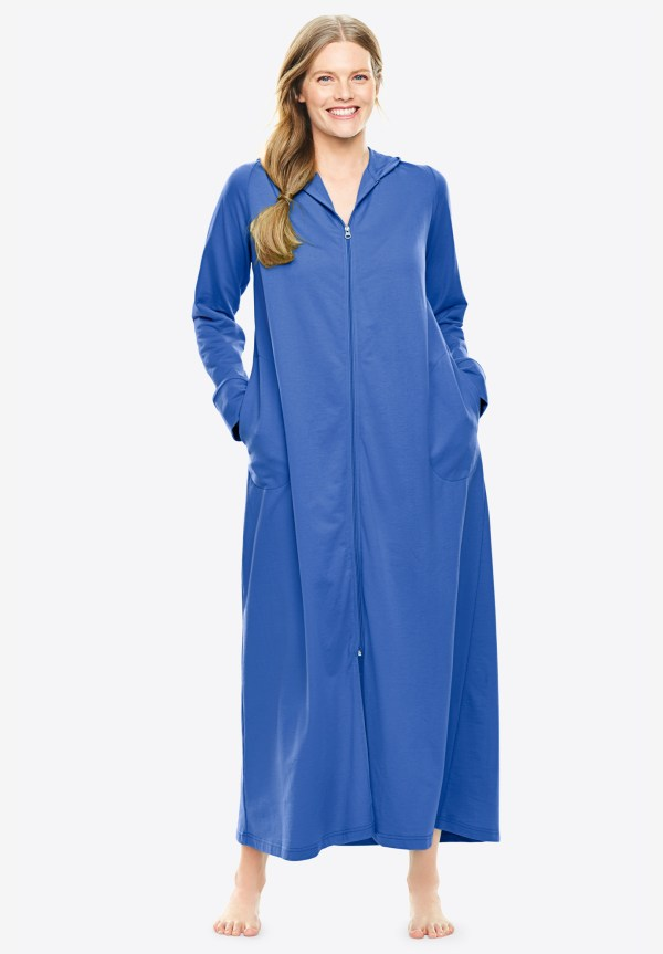 Long Zip-front Robe Dreams & . Size Robes
