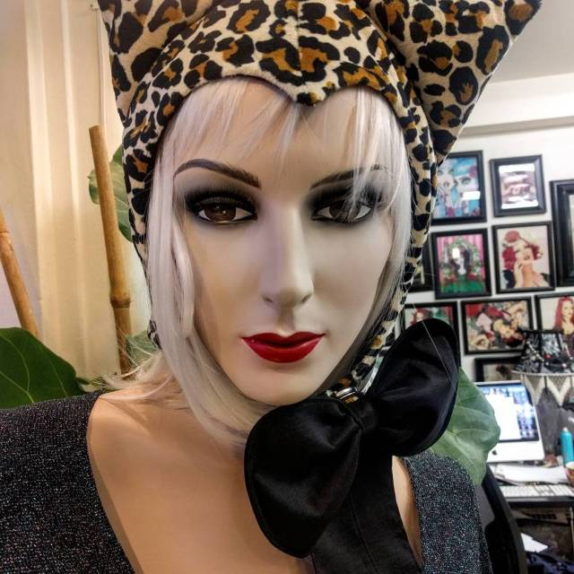Special order ivy cat hat with black liner and bowx2665xfe0fhellip