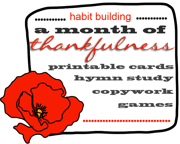 a-month-of-thankfulness