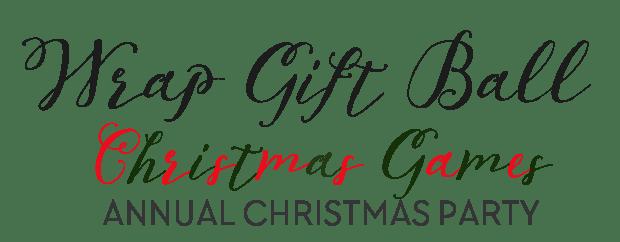 Saran wrap Christmas Gift Ball Game