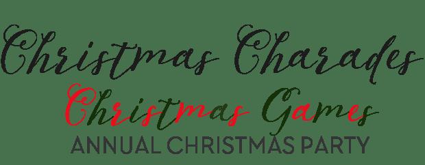 Christmas games - Christmas charades
