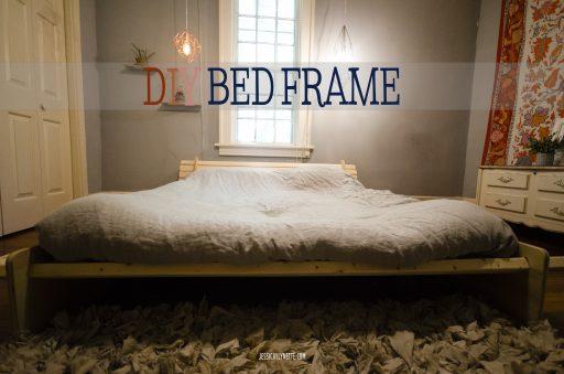 Diy Minimalist Bed Frame Jessicalynette Com
