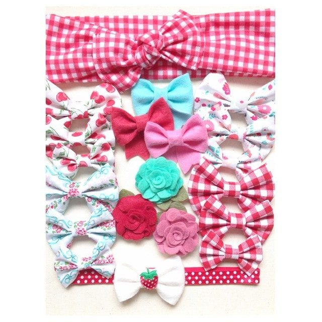 Eola Ella headbands, bows, and wraps