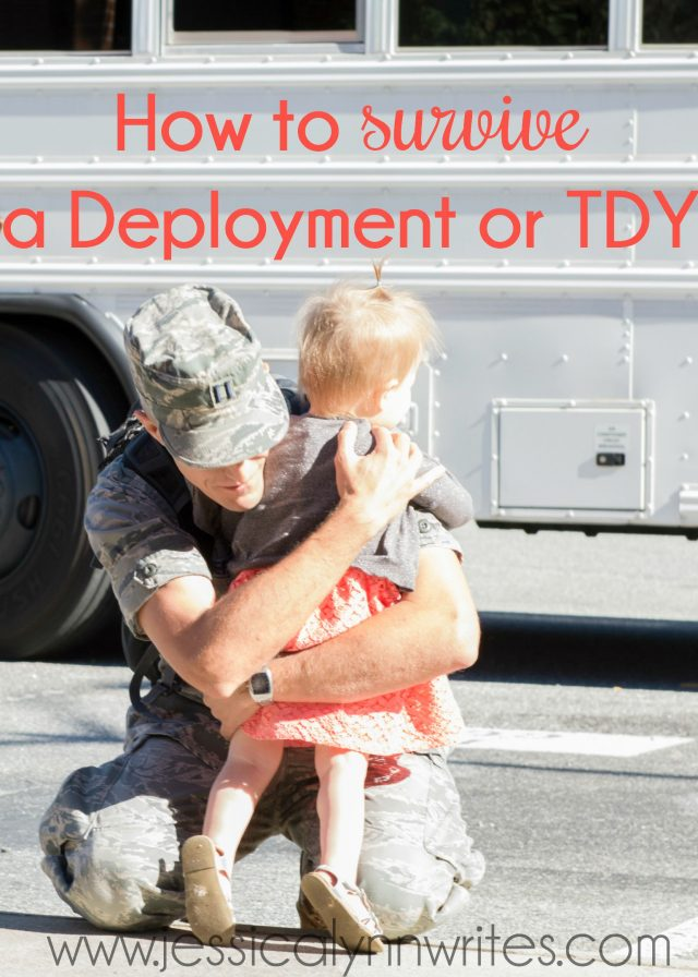"Deployments & TDYs are HARD. I hear the phrase, ""I don't know how you do it,"" all the time. Well here are my secrets; here are 7 ways I survive a deployment"