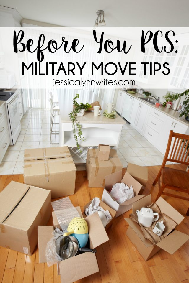 Do you have an upcoming PCS? Here are things you can do NOW while you wait for your upcoming military move.