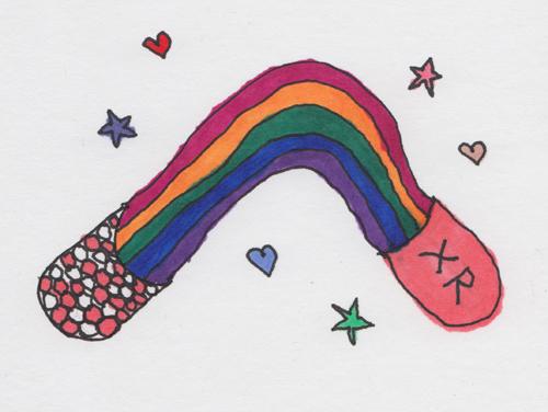 xr rainbow pill