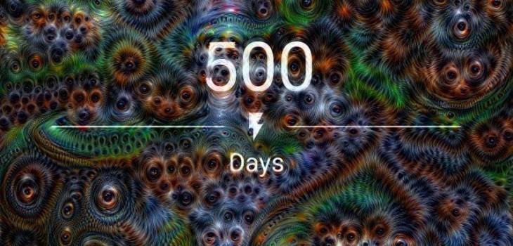 500 days sober!