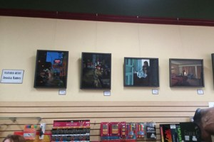 art department, Salem Oregon, artist of the month