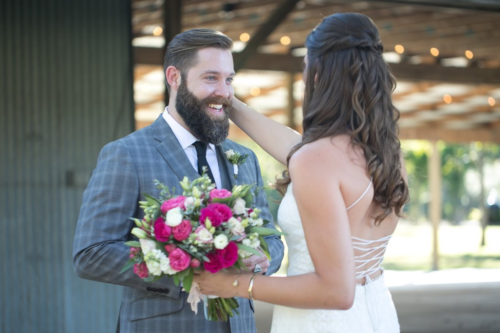 Austin Wedding Hair and Makeup, Real Wedding Austin, As seen in Bride's of Austin, Bride's of Austin Feature, Bridal hair, Bridal Makeup, Half up Half down hairstyle, Fall Wedding inspiration, Texas Fall wedding, Pecan Springs Ranch, Wedding Hairstyle, Curls